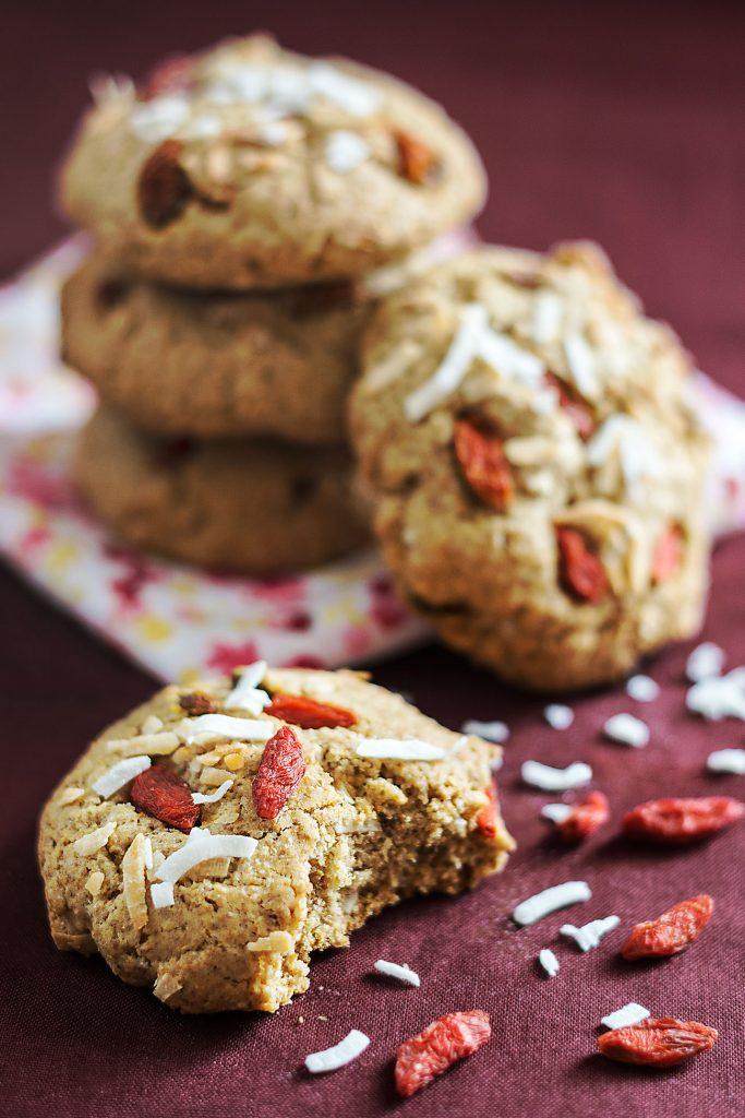 cookie au baie un dessert vegan délicieux
