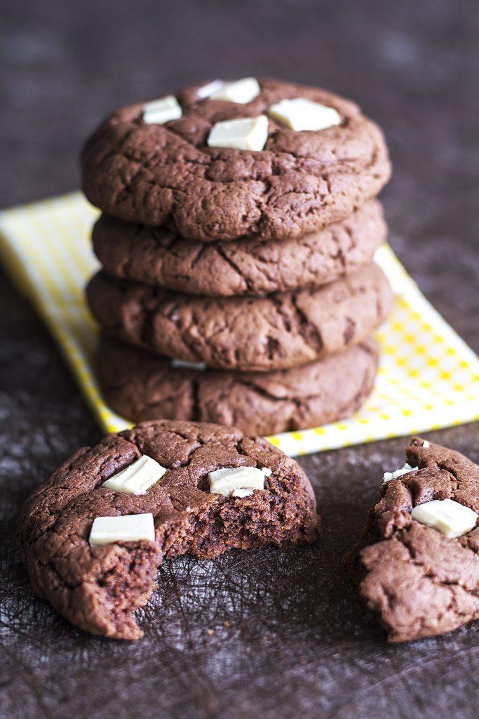 dessert vegan cookie au choco